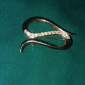 Snake Pin Brooch